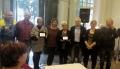 Riconoscimento della comunità di Campolongo Tapogliano alla nostra volontaria e referente locale di Auser Volontariato Bassa Friulana Lucia Avian.