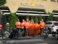 Gruppo Ciclisti Amatoriali AUSER Alto Friuli impegnati sulla ciclabile Gemona – Salisburgo estate 2016