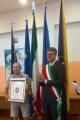 Venerdì 02 giugno il comune RUDA ha consegnato La Croce di Malta al socio volontario AUSER EDI GODEAS.