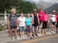 """Il gruppo di """"A bici a pit"""" sulla ciclabile Alpe Adria"""
